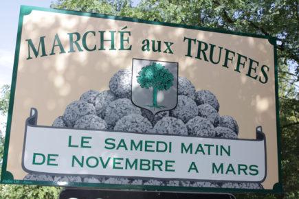 Marché aux truffes - Richerenches