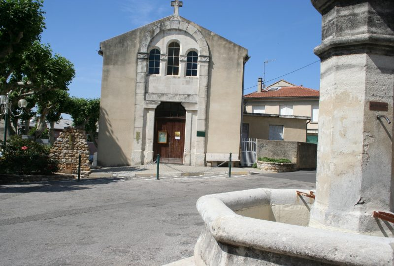 Temple protestant à Valréas - 0