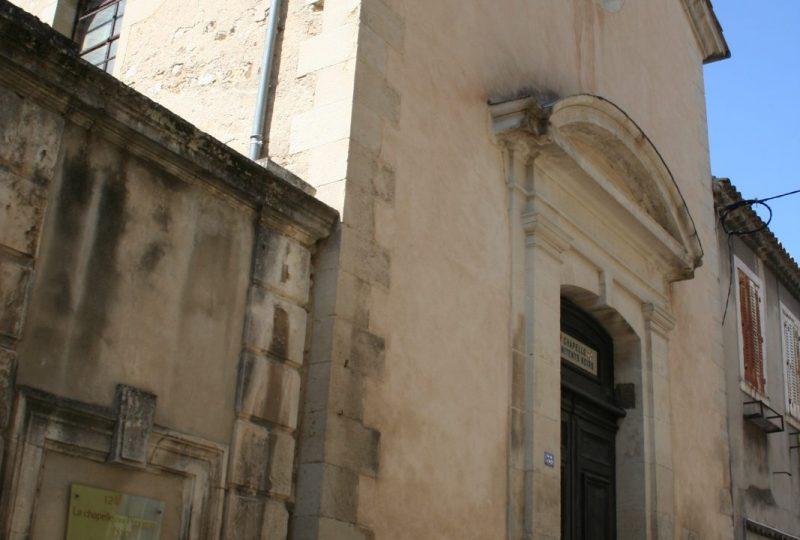 Chapel of the Black Penitents à Valréas - 1